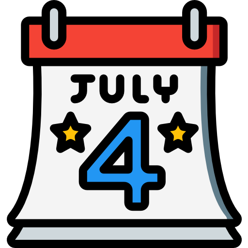 4th of july  free icon