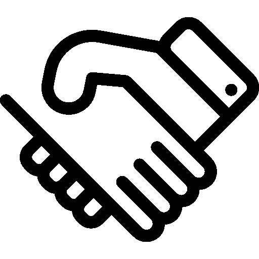 Handshake  free icon