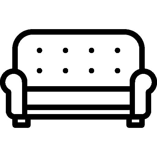 canapé  Icône gratuit