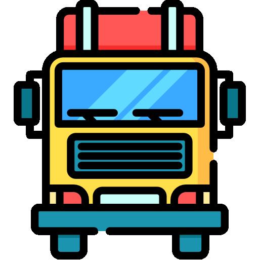 Грузовая машина  бесплатно иконка