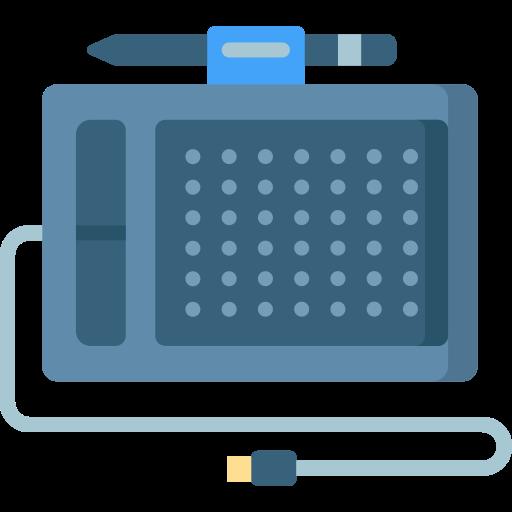 tablette à stylet  Icône gratuit
