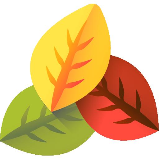 feuilles  Icône gratuit