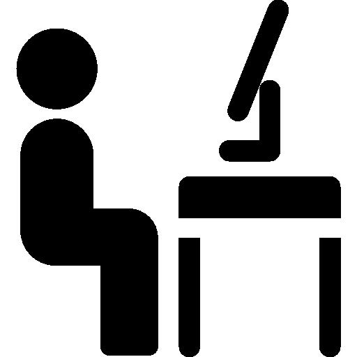 espacio de trabajo  icono gratis