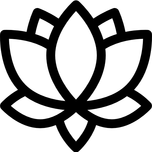 flor de loto  icono gratis