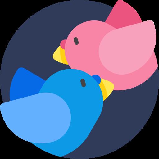 pássaro do amor  grátis ícone