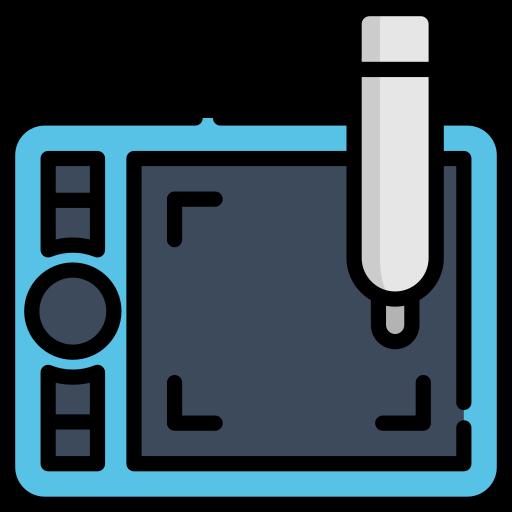 tablette graphique  Icône gratuit