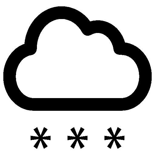 Идет снег  бесплатно иконка