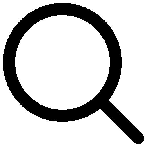 Увеличительное стекло  бесплатно иконка