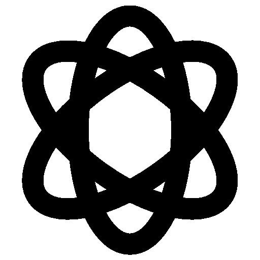 atomique  Icône gratuit