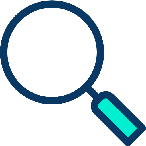 Magnifying glass  free icon