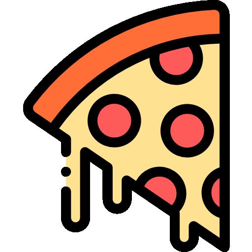Pizza slice  free icon
