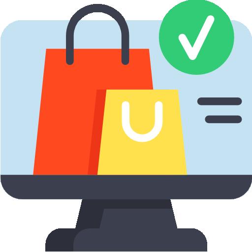 compras  icono gratis