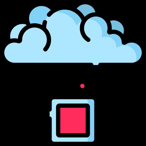cloud computing  Icône gratuit
