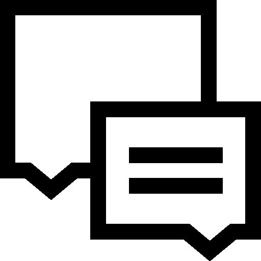Диалог  бесплатно иконка