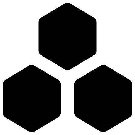 hexágono  icono gratis
