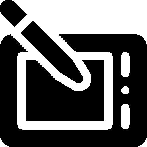 Графический планшет  бесплатно иконка