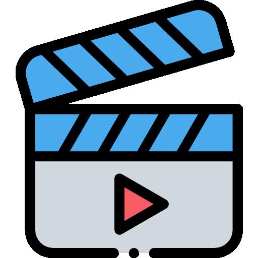 vidéo  Icône gratuit