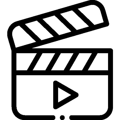 vídeo  icono gratis