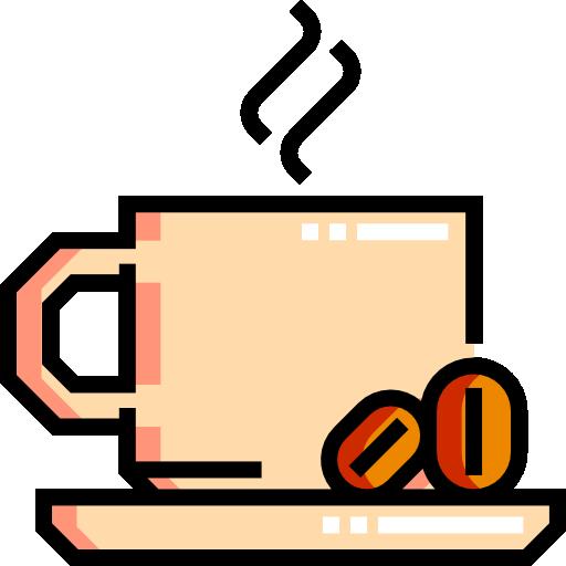 café chaud  Icône gratuit