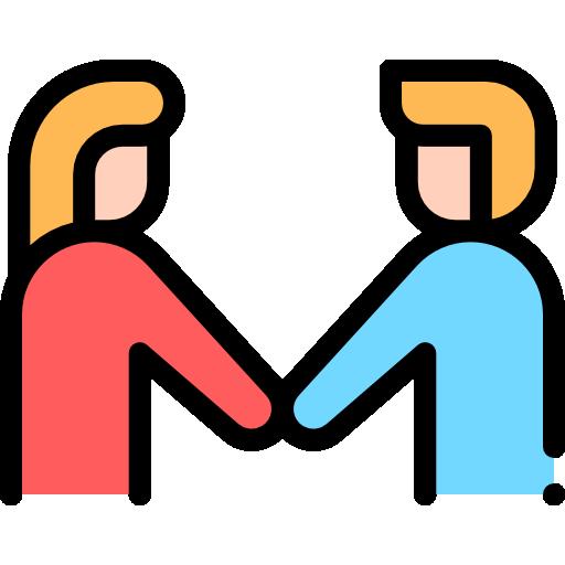 freundschaft schließen  kostenlos Icon