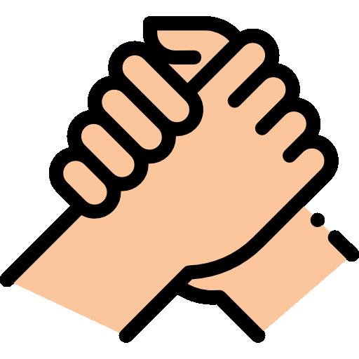 apoio, suporte  grátis ícone