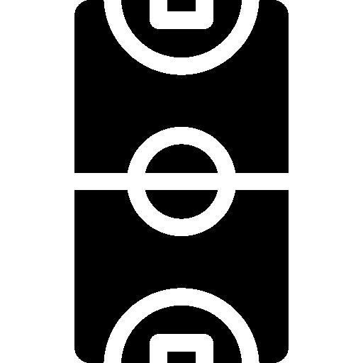 quadra de basquete  grátis ícone