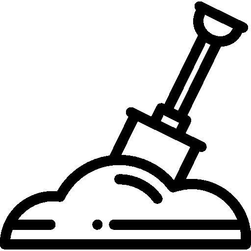 Shovel  free icon