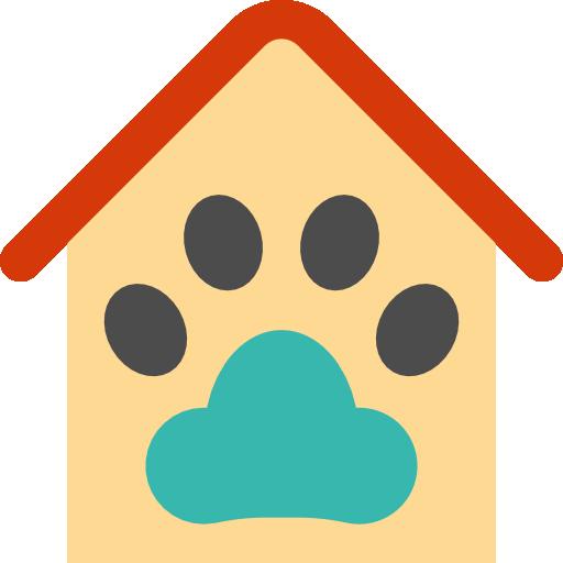 Дом для домашних животных  бесплатно иконка