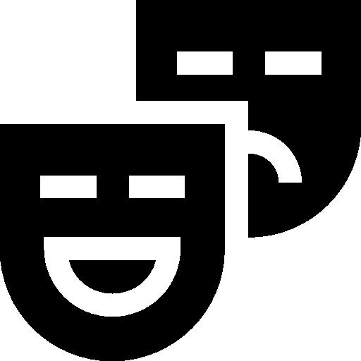 Carnival masks  free icon