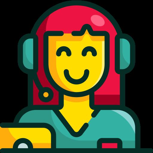 centro de llamadas  icono gratis