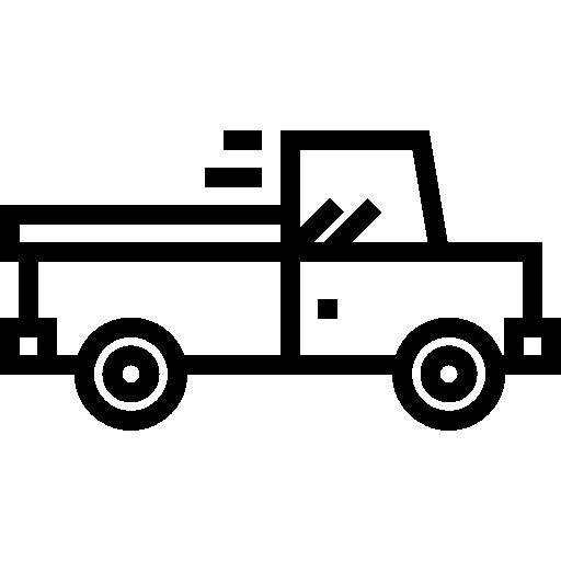 carro pickup  grátis ícone