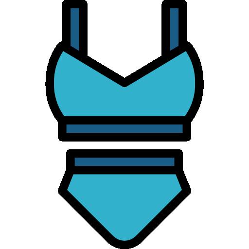 traje de baño  icono gratis
