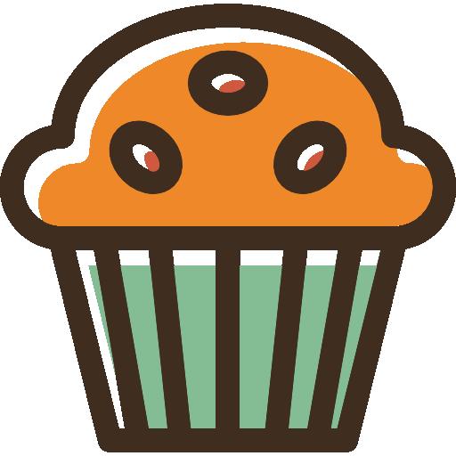 Muffin  free icon