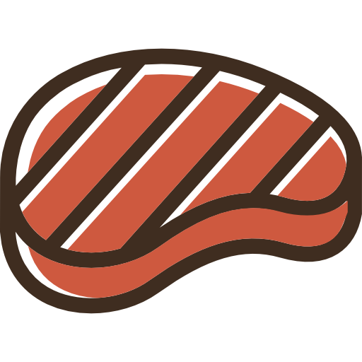 Steak  free icon