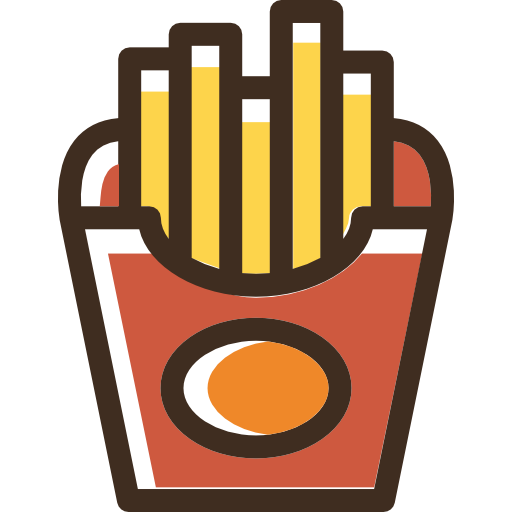 French fries  free icon
