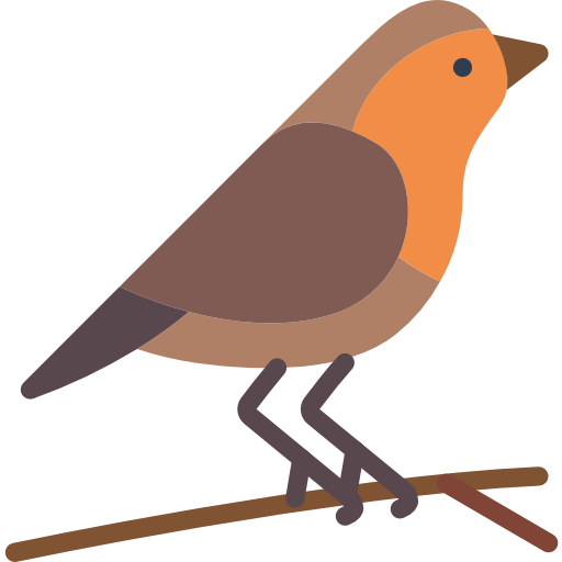Robin  free icon