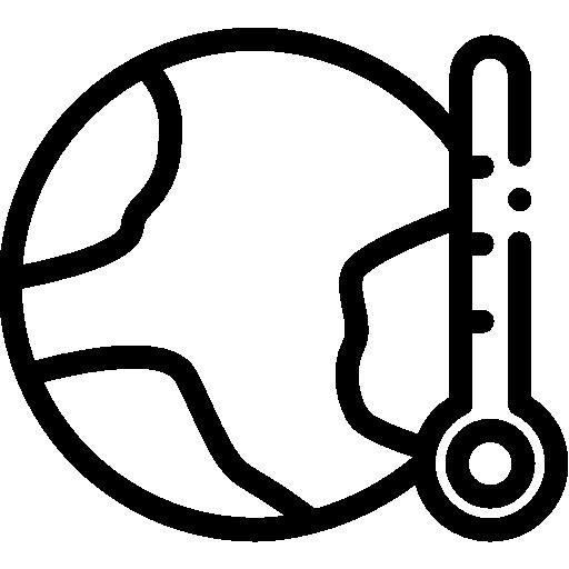 temperatura alta  grátis ícone