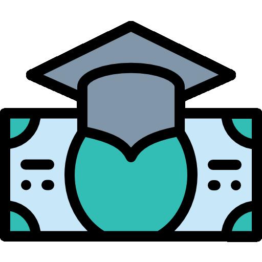 bourse d'études  Icône gratuit