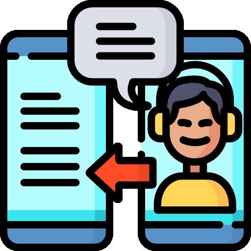 retour d'information  Icône gratuit