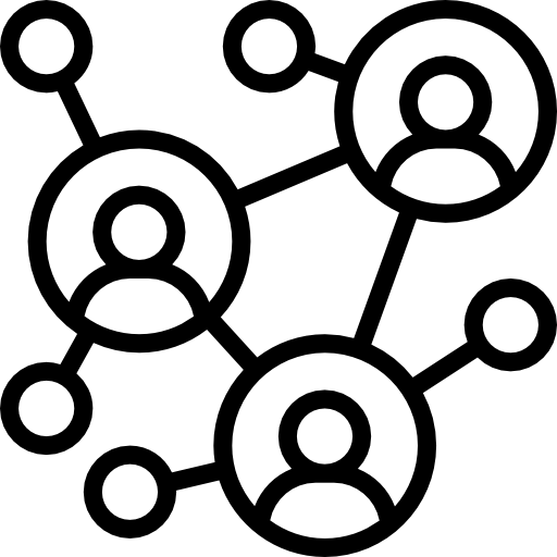 redes  icono gratis