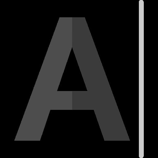 Шрифт  бесплатно иконка