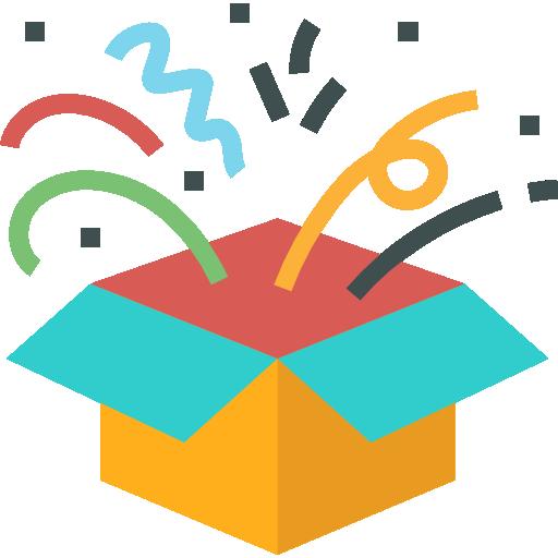 boîte ouverte  Icône gratuit