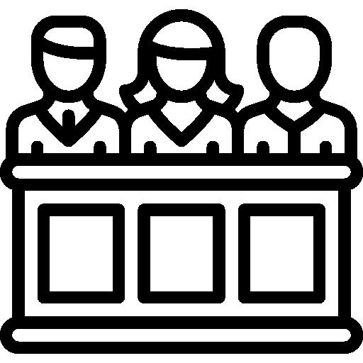 Jury  free icon