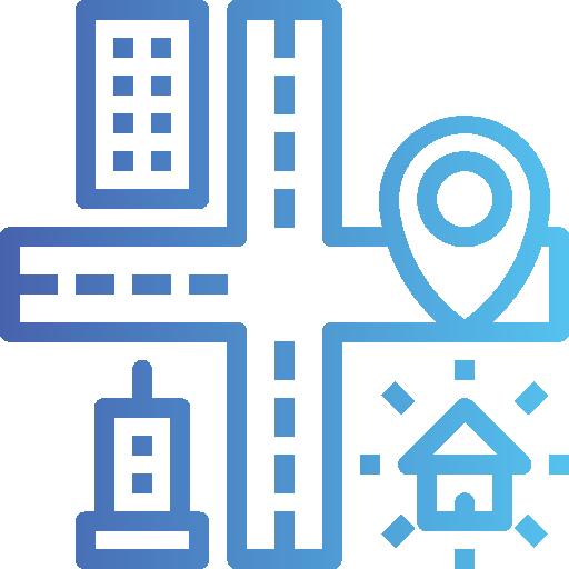 carte et localisation  Icône gratuit