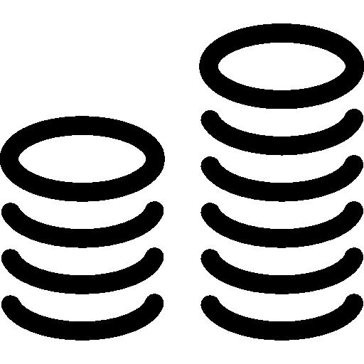Coins  free icon
