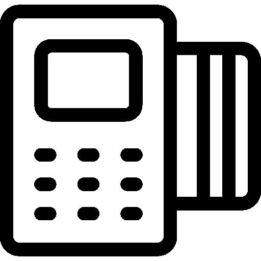 지불 방법  무료 아이콘
