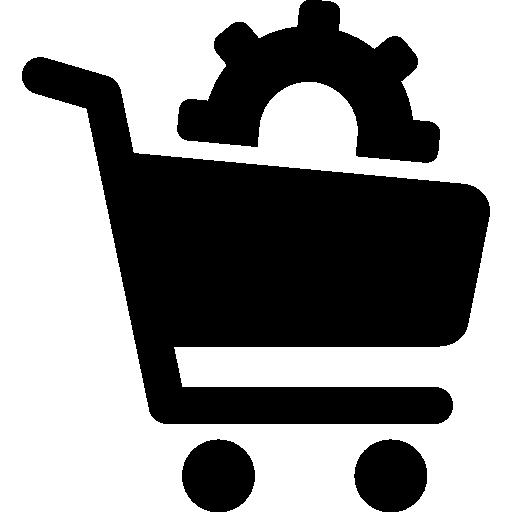 Shopping cart  free icon