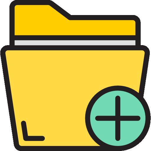 Добавить папку  бесплатно иконка
