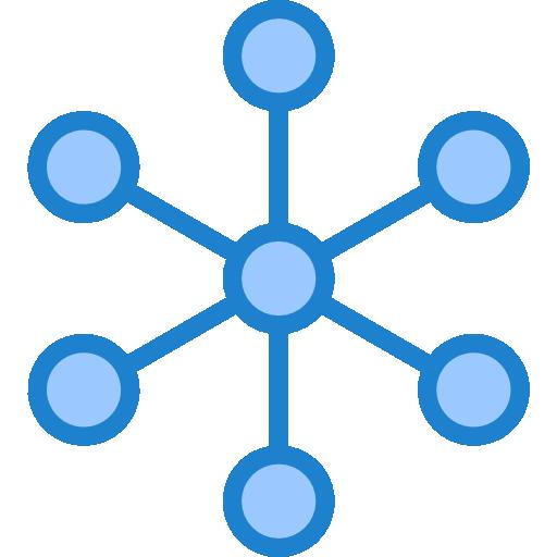 réseau  Icône gratuit