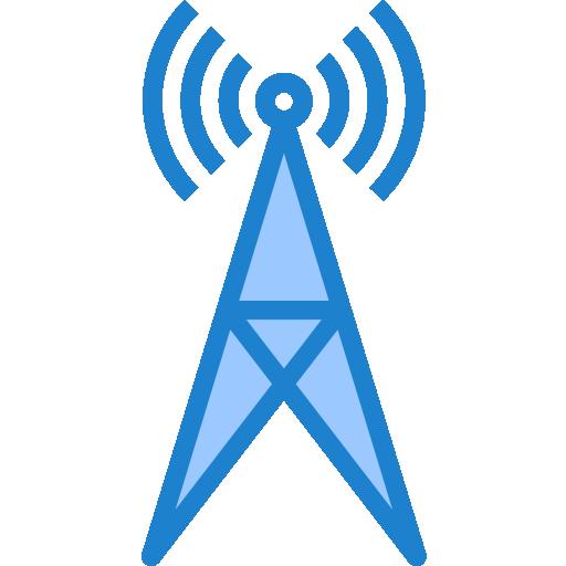 tour de signal  Icône gratuit